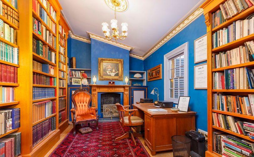 The stunning Victorian-era study