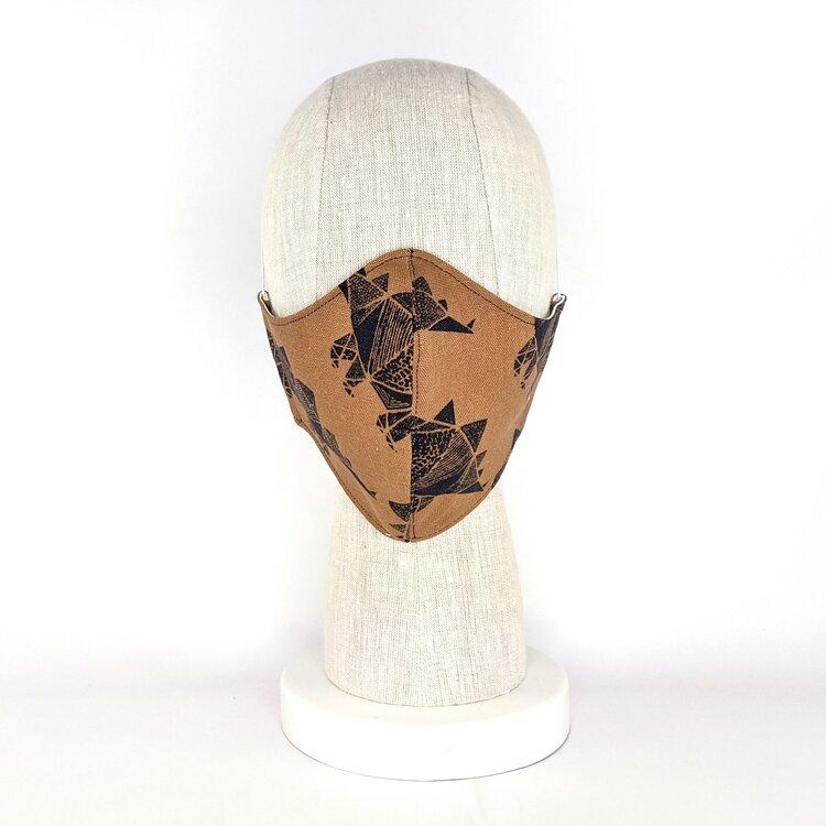 Stegosaurus Fabric Face Mask