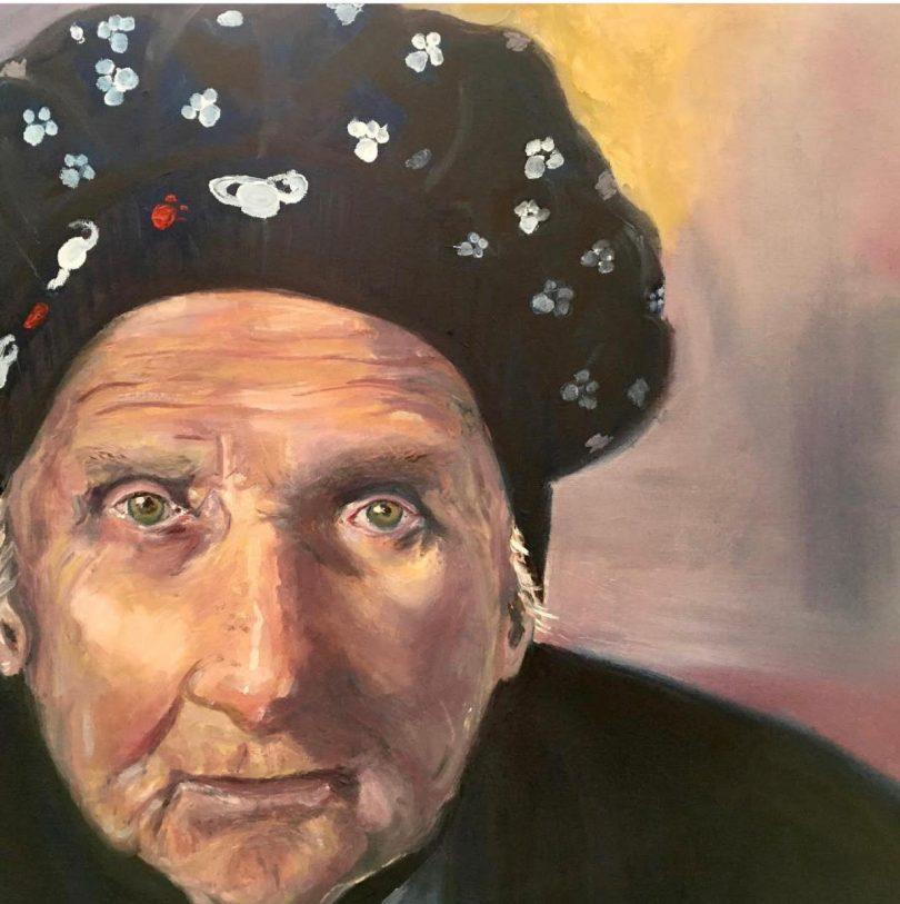 Portrait of Stasia Dabrowski.