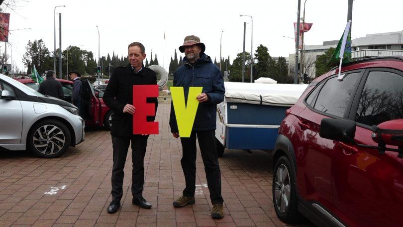 Shane Rattenbury at World EV Day