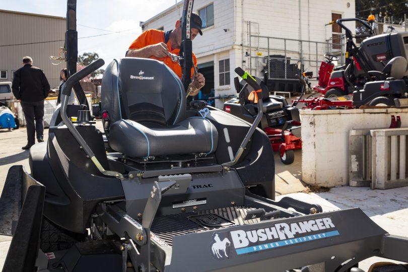 Bushranger mower