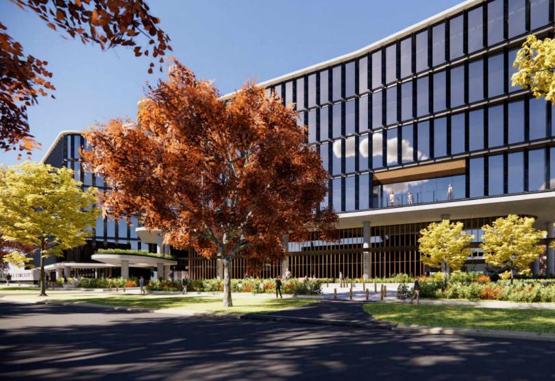 Barton office proposed development