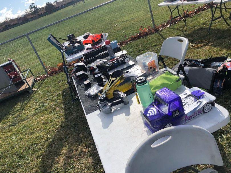 Model cars race at Kambah on Sunday