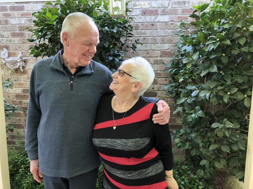 Frank and Christine Wybenga