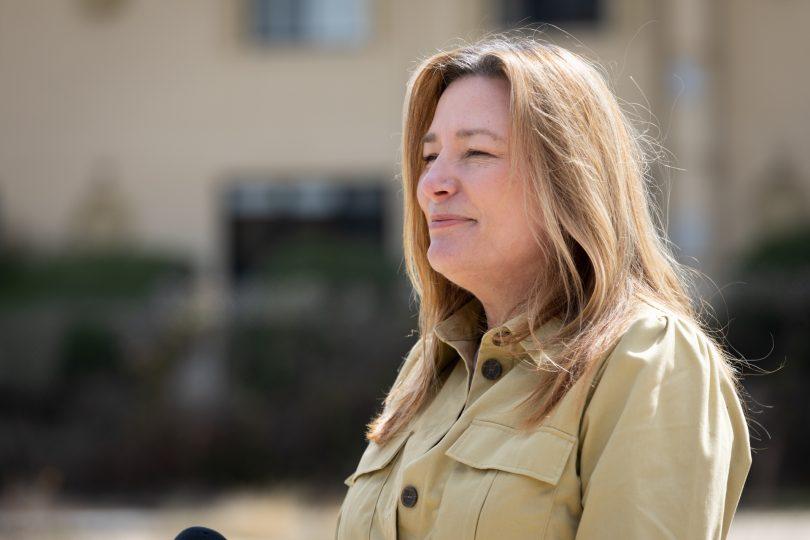 Minister for Women Yvette Berry