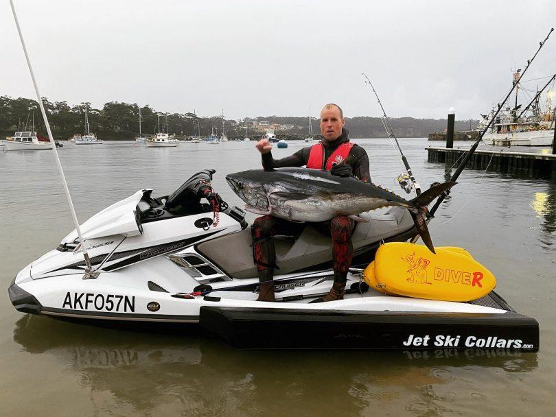 Spear-fisherman Glen Thurston