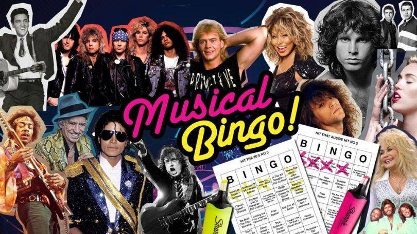 Play musical bingo at Hopscotch!