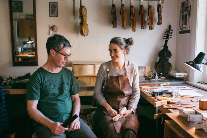 Hugh Withycombe and Miranda Scott