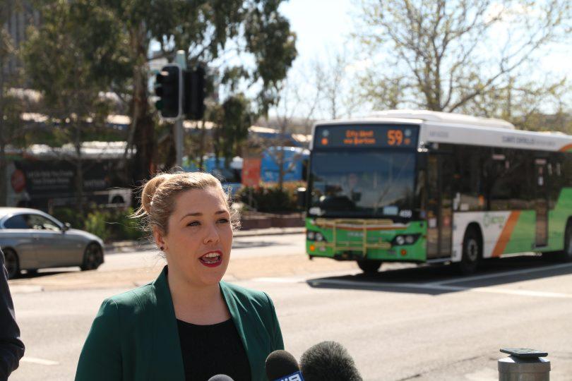 Canberra Liberals transport spokesperson Candice Burch