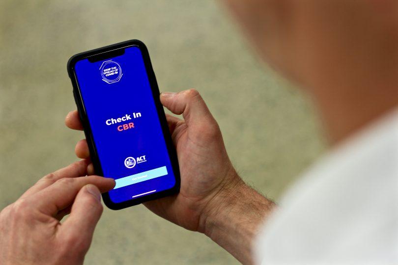 The Check In CBR app.