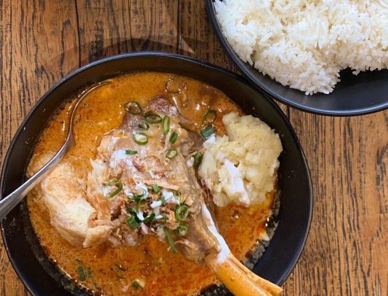 Massaman Lamb Shank from Kinn Thai