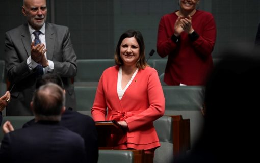 """McBain vows to """"supercharge bushfire recovery"""" in first speech as Member for Eden-Monaro"""