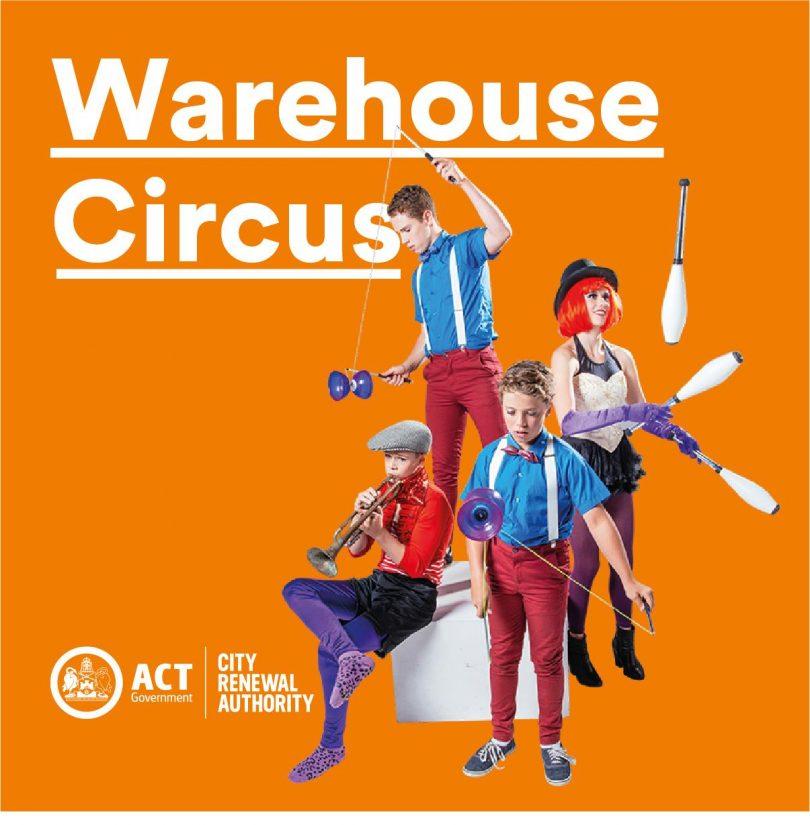 Warehouse Circus Skills Program