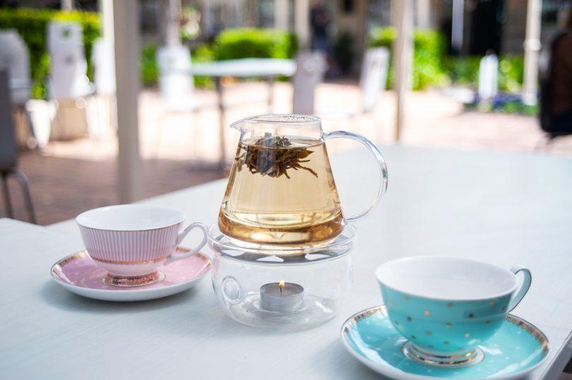 Hibiscus & Rose flowering tea