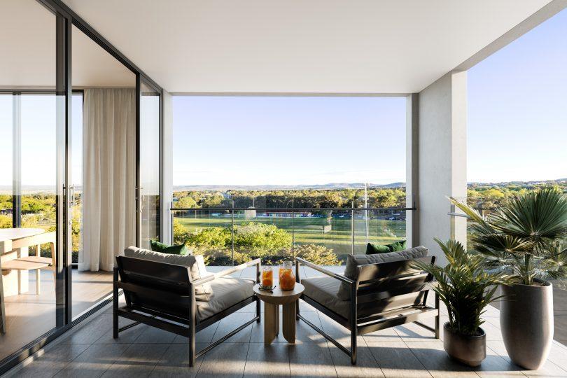 Kiara Apartments view