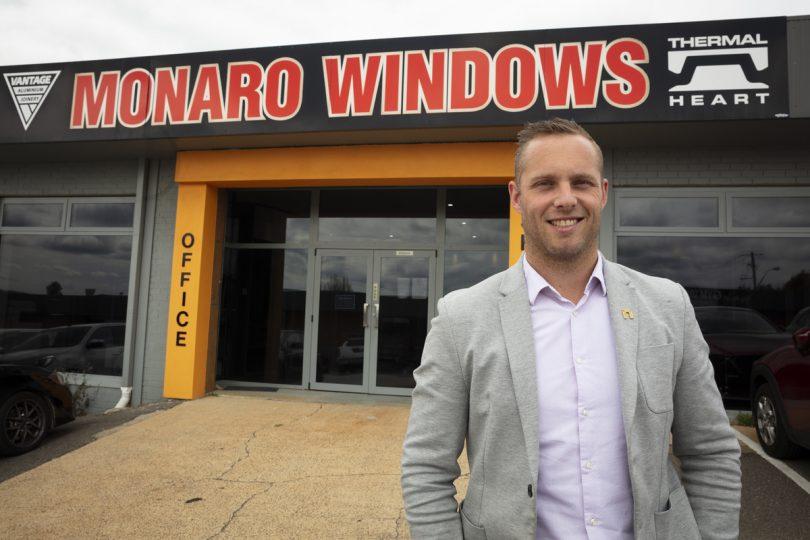 Dan Bosch of Monaro Windows