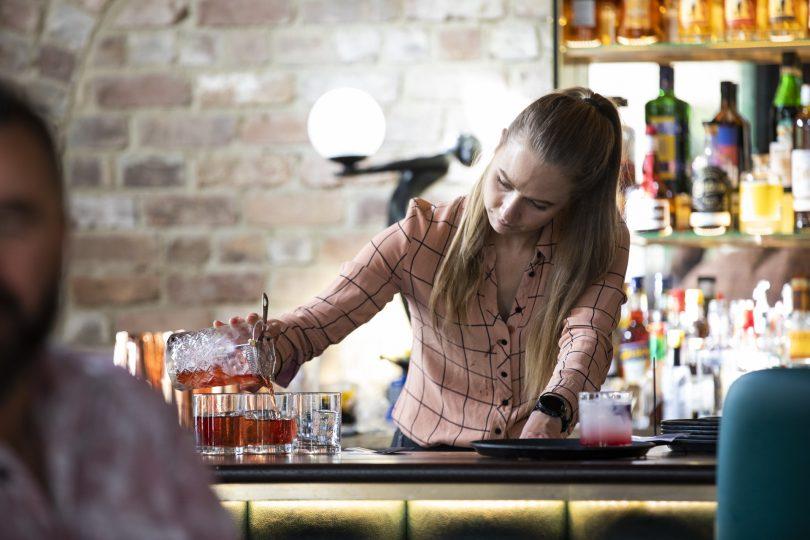 Inventive cocktail menu