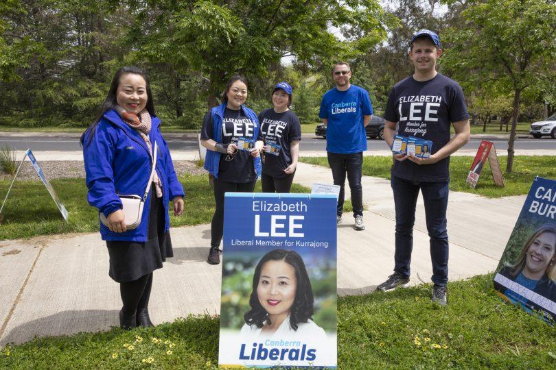 Elizabeth Lee ACT Election 2020. Photo: Thomas Lucraft.