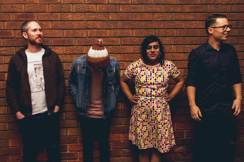 DIY post punk quartet Agency