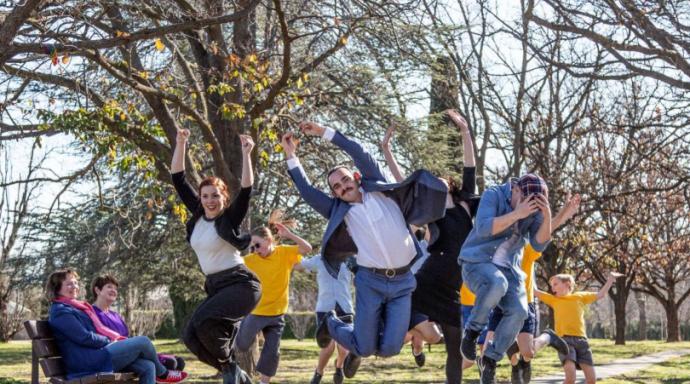 Australian Dance Party's Move to Zero campaign takes flight