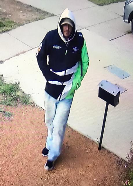 Aggravated burglary suspect