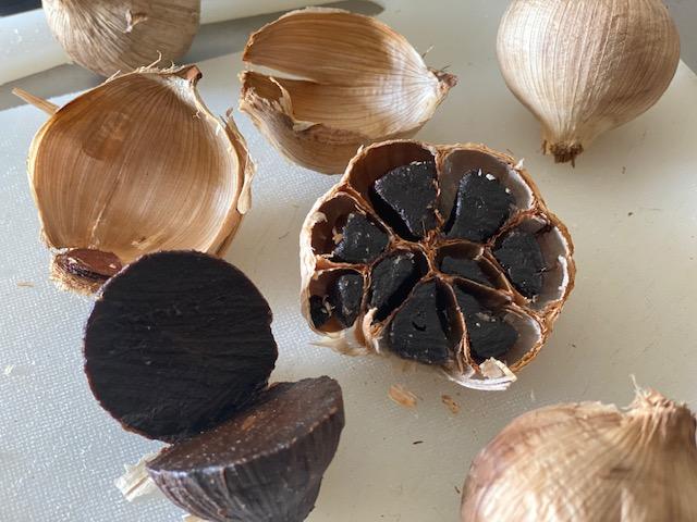 Bredbo Black Garlic bulbs