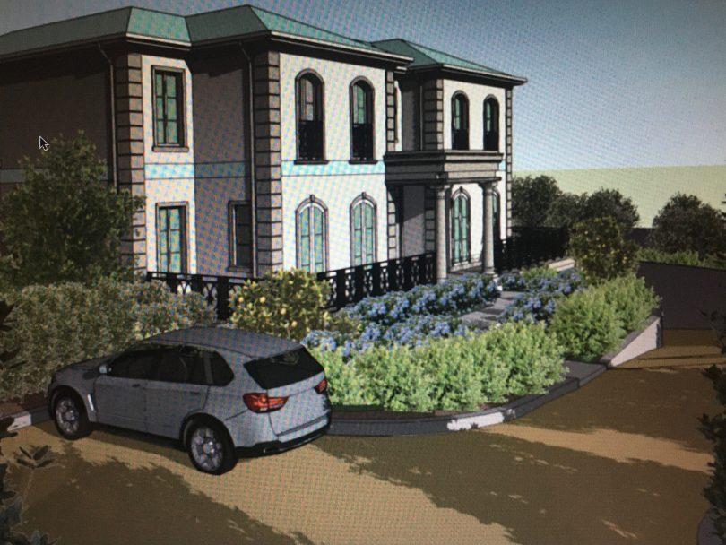 Artist impression of new home at 22 Hurst Street in Goulburn.
