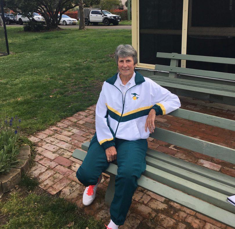 Heather McKay at Reid Tennis Club.