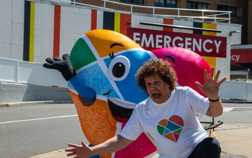 Leo Sayer encourages Canberrans to be life savers