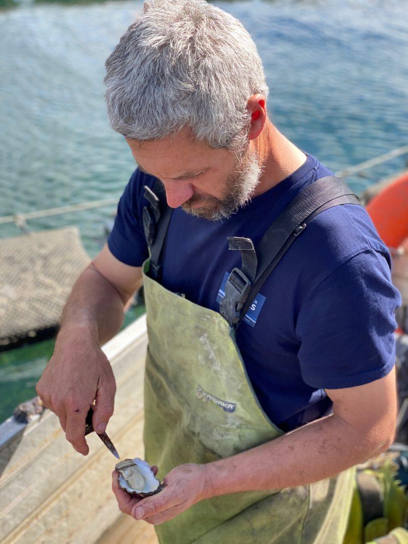 Greg Carton Broadwater Oysters