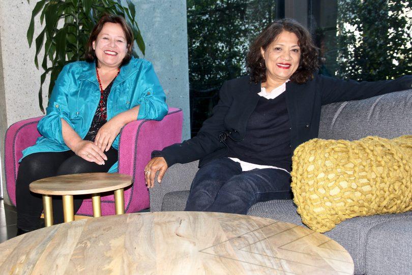 Robby McGarvey, left, and Sunita Kotnala, right.