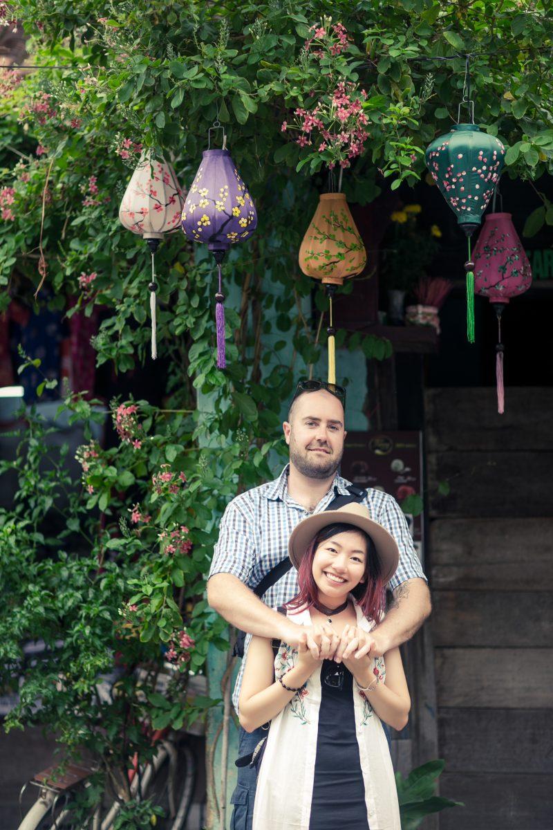 Trang Tran and Glen Lewis