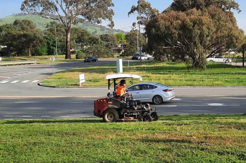 City Services mower