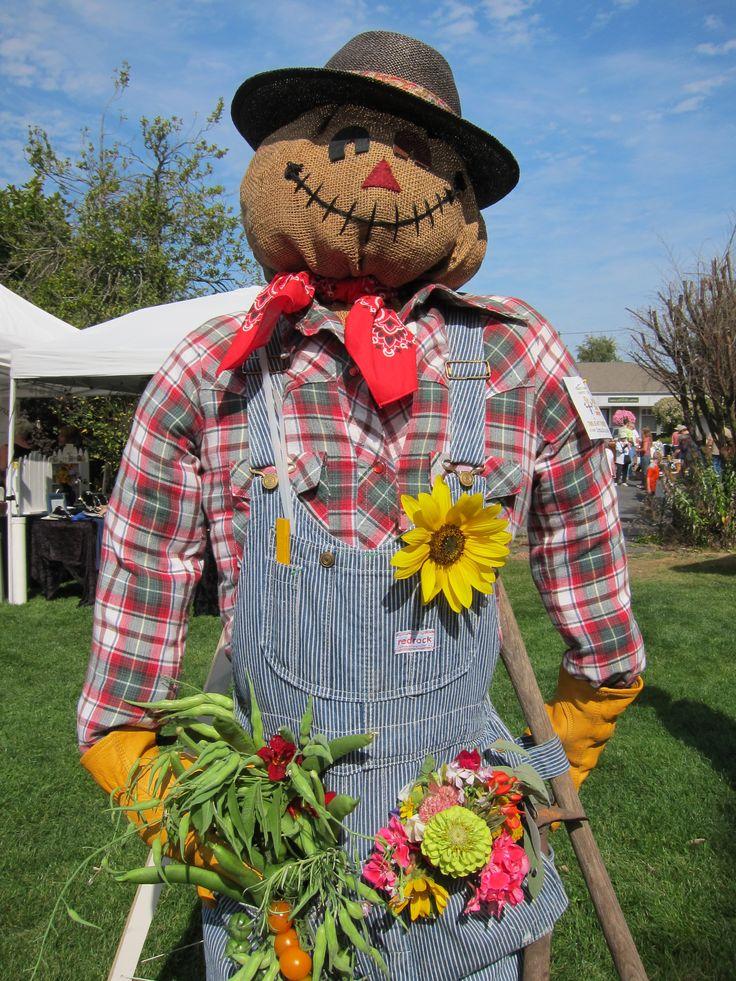 A no-show scarecrow.