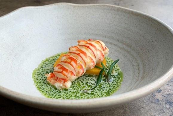 Pilot Restaurant Champagne lobster