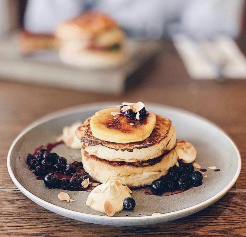 Pancakes at Urban Pantry