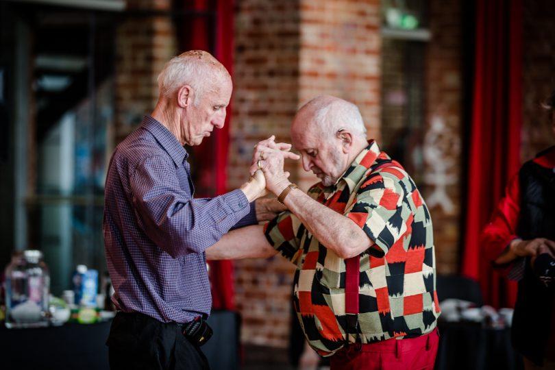 Dancing at the Elders Dance Club
