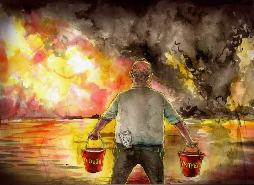 'Thoughts and Prayers' by David Rowe