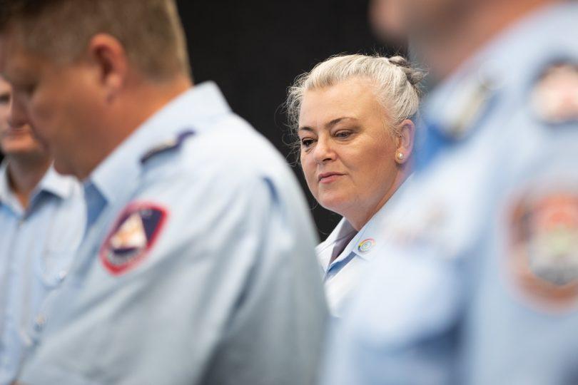 Georgeina Whelan at bushfire season launch