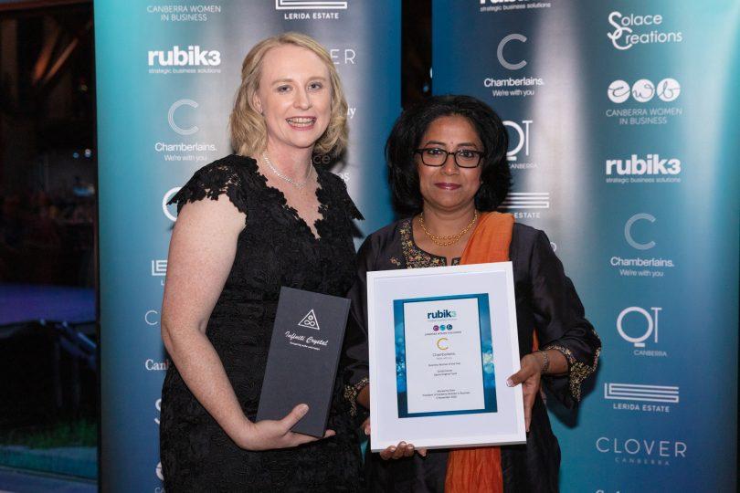 Angela Backhouse and Sunita Kumar