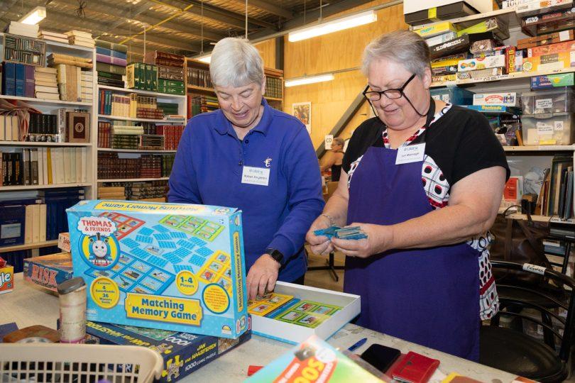 Lifeline Book Warehouse Photo: Michelle Kroll Region Media