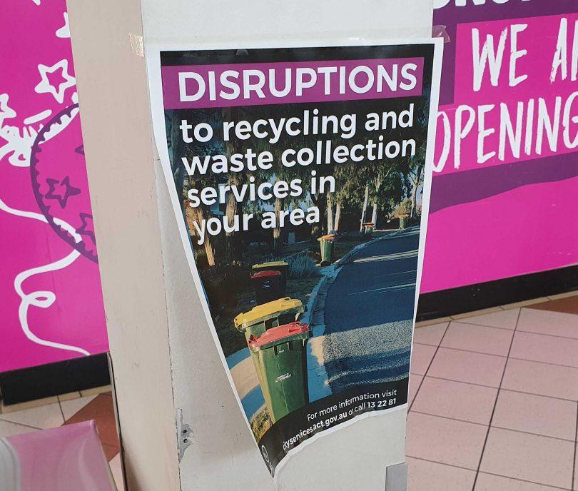 Garbage strike notice