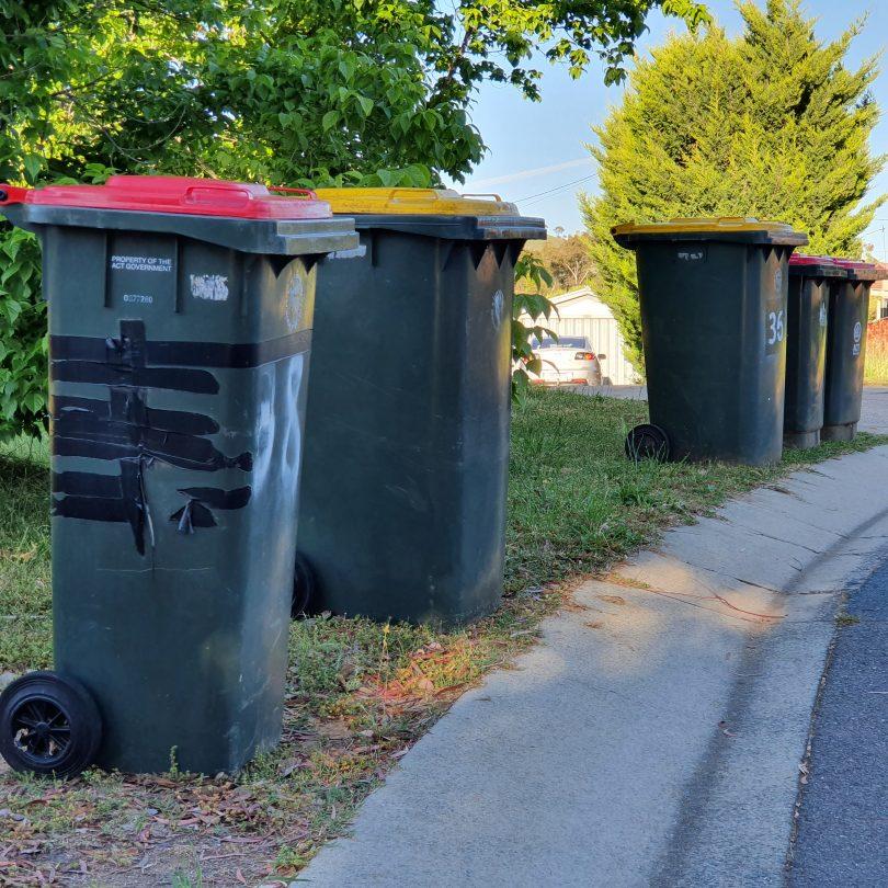Garbage bins. Photo: Region Media.