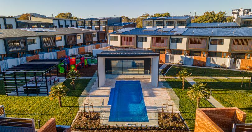 Resort-style facilities at Avani Terraces