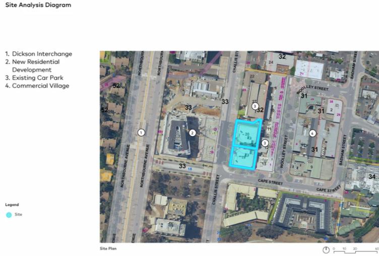 Dame Patti site plan