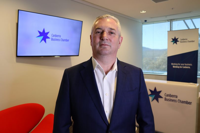 Graham Catt - CEO Canberra Business Chamber profile pic Photo: Supplied