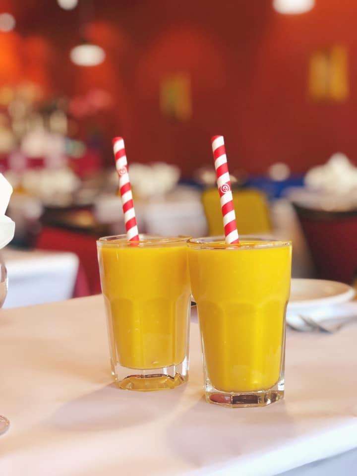 Rama's mango lassi