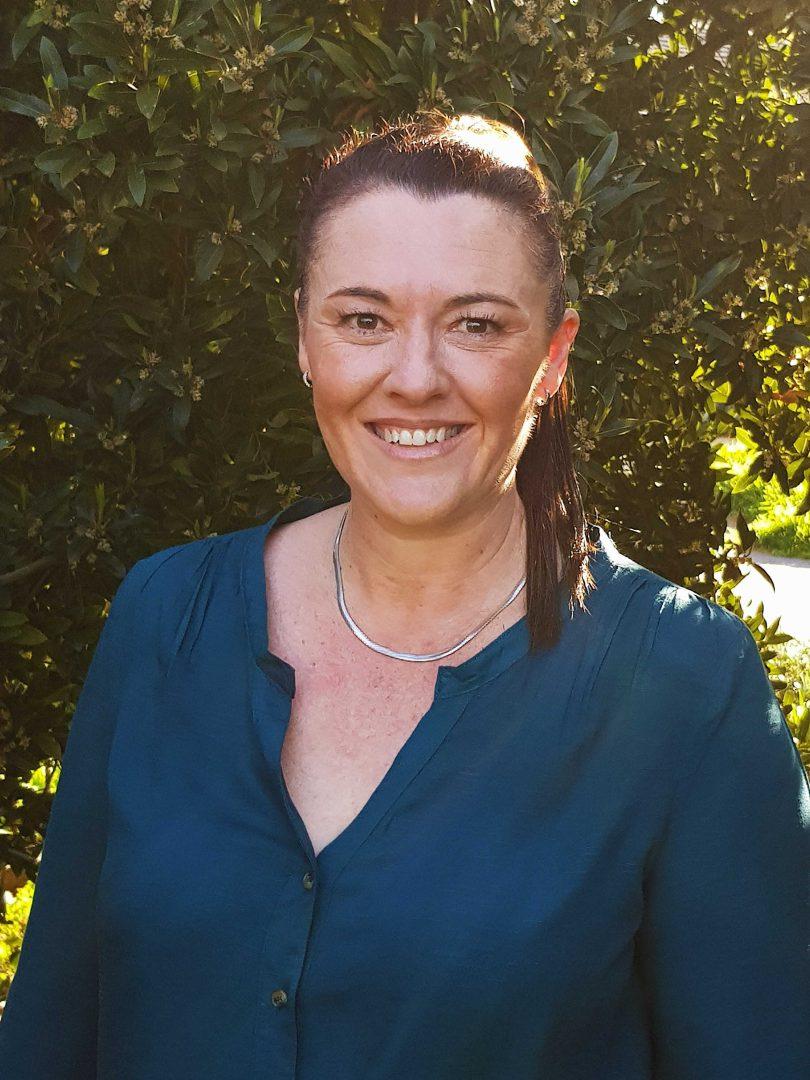 Bonython Primary School teacher Sarah Fletcher.