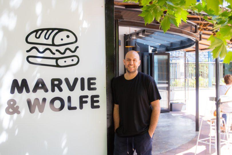 Grant Astle, owner, Marvie & Wolfe