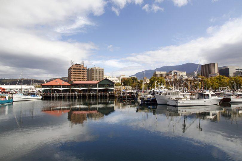Constitution Dock in Hobart Port